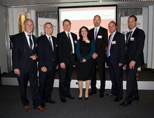 Heiner Nebel (links) mit seinen Referenten