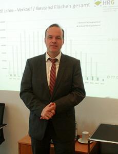 Mattias Böhle, Geschäftsführer HRG