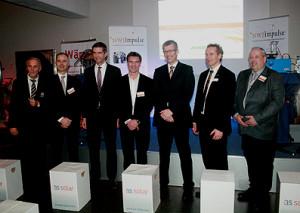 Heiner Nebel (links) und seine Referenten